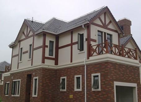 别墅外墙瓷砖效果图
